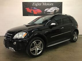 Mercedes-Benz M-Class ML63 V8 AMG Engine ML 63 6.3L AMG Black 503 hp Clean Carfax 2009
