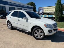 2009_Mercedes-Benz_ML320 3.0L BlueTEC NAVIGATION_REAR VIEW CAMERA, PARKTRONIC, XENONS, HARMAN KARDON AUDIO, KEYLESS GO, WOOD STEERING WHEEL, PREMIUM LEATHER, ADJUSTABLE SUSPENSION, SUNROOF!!! SUPER CLEAN!!!_ Plano TX