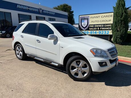 2009 Mercedes-Benz ML320 3.0L BlueTEC NAVIGATION REAR VIEW CAMERA, PARKTRONIC, XENONS, HARMAN KARDON AUDIO, KEYLESS GO, WOOD STEERING WHEEL, PREMIUM LEATHER, ADJUSTABLE SUSPENSION, SUNROOF!!! SUPER CLEAN!!! Plano TX