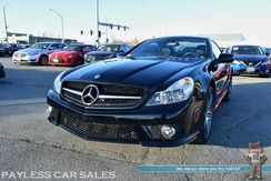 2009_Mercedes-Benz_SL 63_AMG / Air Suspension / 6.3L V8 / Convertible Hardtop / Heated & Cooled Leather Seats / Harman Kardon Speakers / Navigation / Bluetooth / Only 72K Miles_ Anchorage AK