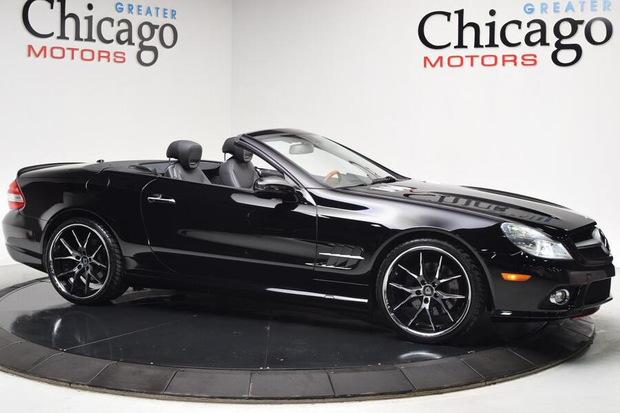 2009_Mercedes-Benz_SL-Class_V8_ Glendale Heights IL