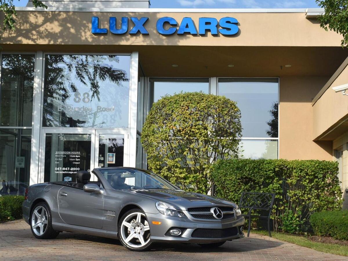 2009_Mercedes-Benz_SL550_Sport AMG Premium 1 Nav MSRP $105,125_ Buffalo Grove IL