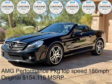 Mercedes-Benz SL63 AMG ~ Super Rare AMG PERF PKG~ $4000 Custom Radar 2009