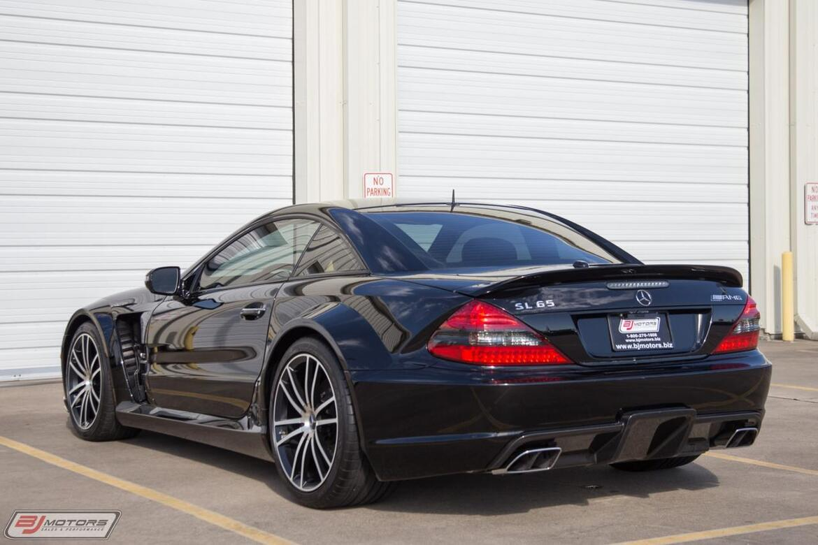 2009 Mercedes-Benz SL65 AMG Black Series Tomball TX