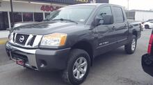 2009_NISSAN_TITAN_SE CREWCAB 4X4, CARFAX CERTIFIED, SATELLITE, BEDLINER, TOW PKG, PARKING SENSORS, AUX PORT, CLEAN!_ Norfolk VA