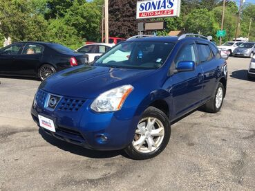 2009_Nissan_Rogue_SL_ Worcester MA