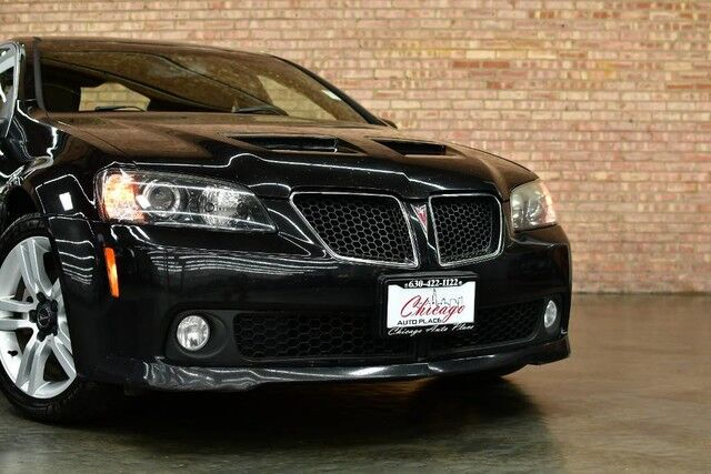 2009 Pontiac G8 - 3.6L VVT V6 ENGINE REAR WHEEL DRIVE BLACK LEATHER HEATED SEATS DUAL ZONE CLIMATE ALLOY WHEELS Bensenville IL