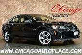 2009 Pontiac G8 - 3.6L VVT V6 ENGINE REAR WHEEL DRIVE BLACK LEATHER HEATED SEATS DUAL ZONE CLIMATE ALLOY WHEELS