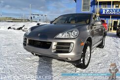 2009_Porsche_Cayenne_S / AWD / Automatic / 4.8L V8 / Power & Heated Leather Seats / Sunroof / Navigation / Bluetooth / Power Lift Gate / HID Headlights / USB & AUX Jacks / Aluminum Wheels / Tow Pkg_ Anchorage AK