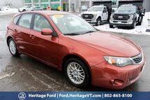2009 Subaru Impreza Wagon i Premium South Burlington VT