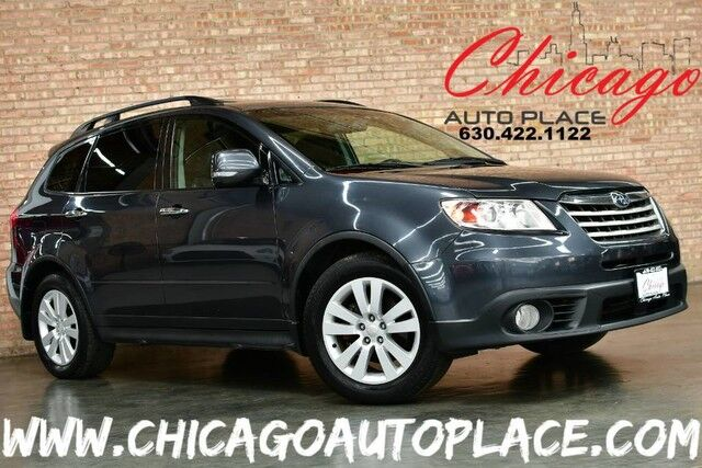 2009 Subaru Tribeca 5-Pass Limited - 3.6L 6-CYL BOXER ENGINE ALL WHEEL DRIVE BLACK LEATHER INTERIOR HEATED SEATS SUNROOF PROJECTOR HEADLAMPS Bensenville IL