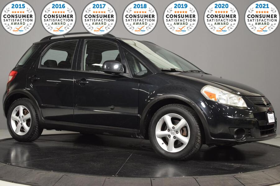 2009_Suzuki_SX4_Auto Technology Pkg AWD_ Glendale Heights IL