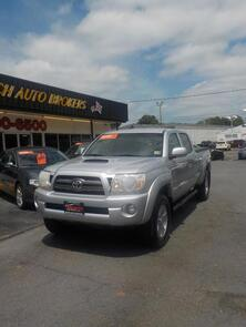TOYOTA TACOMA SR5 DOUBLE CAB 4X4, AUTOCHECK CERTIFIED, 6 DISC CD, TOW PACKAGE, BED LINER, LOW MILES! 2009