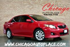 2009_Toyota_Corolla_S - 1.8L VVT-i 4 CYL 1 OWNER CLEAN CARFAX SPORT CLOTH CD + AUX INPUT JACK_ Bensenville IL