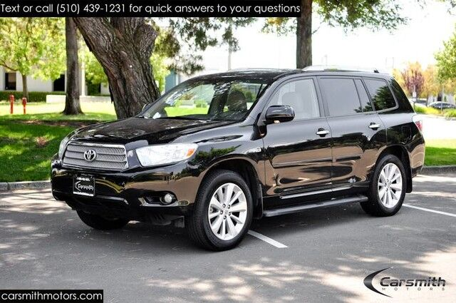 2009 Toyota Highlander Hybrid Limited Navigation, 3rd Row Seats, Tow  Package, Fully Serviced ...
