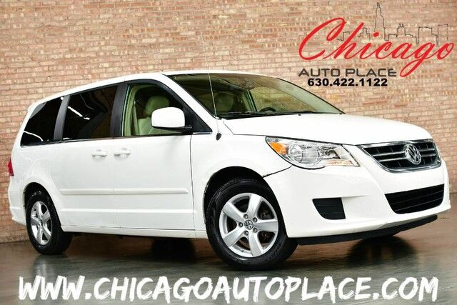 2009 Volkswagen Routan SEL w/RSE - CLEAN CARFAX BEIGE LEATHER HEATED SEATS DUAL POWER SLIDING DOORS POWER LIFTGATE REAR TV/DVD 3RD ROW SEATS Bensenville IL