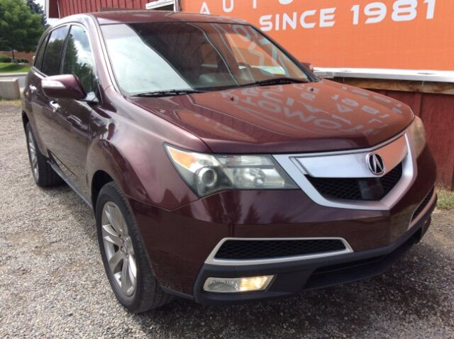 2010 Acura MDX 6-Spd AT w/Advance Package Spokane WA