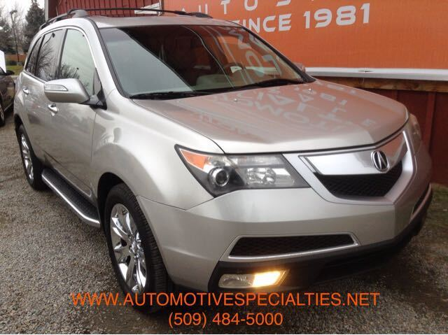 2010 Acura MDX Tech Package Spokane WA