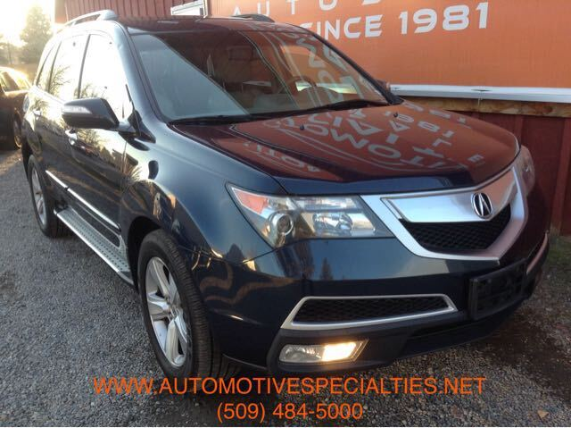 2010 Acura MDX Tech Package and Entertainment Package Spokane WA