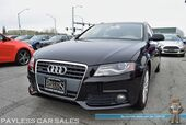 2010 Audi A4 Wagon 2.0T Premium Plus / Quattro AWD / Turbocharged / Automatic / Power & Heated Leather Seats / Panoramic Sunroof / Cruise Control / 29 MPG / Only 78K Miles