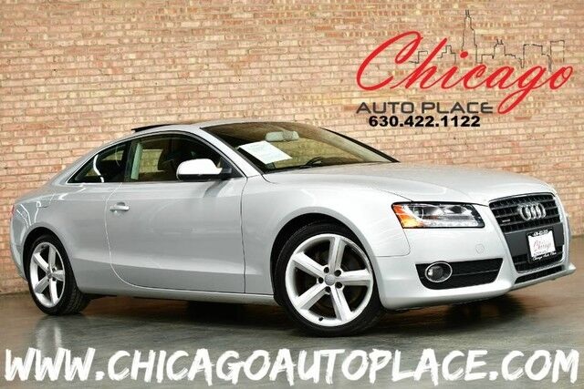 2010 Audi A5 2.0T Premium Plus - 2.0L TURBO 4-CYL QUATTRO AWD NAVIGATION BACKUP CAMERA BLACK LEATHER HEATED SEATS DUAL ZONE CLIMATE Bensenville IL