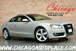 2010_Audi_A5_3.2L Prestige - 3.2L FSI V6 ENGINE ALL WHEEL DRIVE NAVIGATION BACKUP CAMERA BANG & OLUFSEN AUDIO BROWN LEATHER HEATED SEATS KEYLESS GO WOOD GRAIN INTERIOR TRIM XENONS_ Bensenville IL