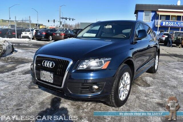 2010 Audi Q5 Premium Plus / AWD / 3.2L V6 / Power & Heated Leather Seats / Panoramic Sunroof / Bluetooth / Cruise Control / Power Liftgate / Keyless Entry / 23 MPG Anchorage AK