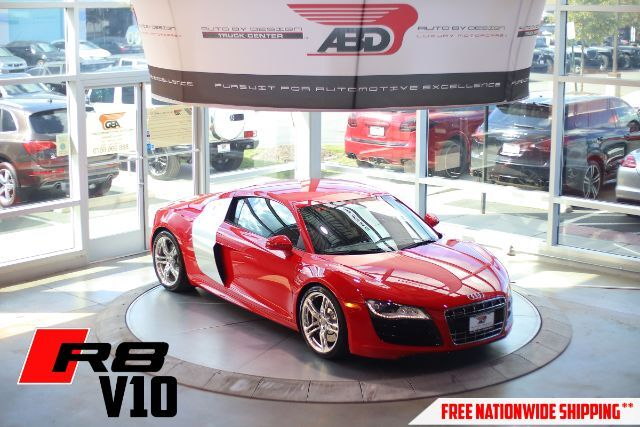 2010 Audi R8 5.2 Coupe quattro with Auto R tronic Chantilly VA