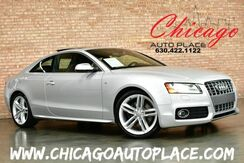 2010_Audi_S5_Prestige - 6 SPEED MANUAL 4.2L V8 ENGINE QUATTRO ALL WHEEL DRIVE NAVIGATION BLACK LEATHER/SUEDE SPORT SEATS HEATED SEATS MOONROOF_ Bensenville IL