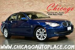 2010_BMW_5 Series_535i xDrive - 3.0L TWIN-TURBOCHARGED I6 ENGINE ALL WHEEL DRIVE NAVIGATION BLACK LEATHER HEATED SEATS SUNROOF XENONS_ Bensenville IL