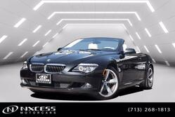 BMW 6 Series 650i Conv One Owner Super Clean ! Low Miles 26K 2010