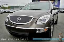 2010_Buick_Enclave_CXL / AWD / Power & Heated Leather Seats / Auto Start / Dual Sunroof / Rear Captains Chairs / 3rd Row / Seats 7 / Back Up Camera / Tow Pkg_ Anchorage AK