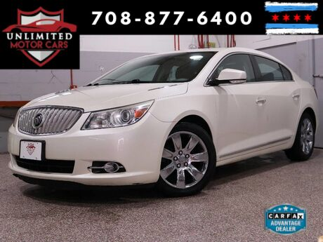 2010 Buick LaCrosse CXS Navi Pano Roof Heated/Cooled Seats Heads-Up Bridgeview IL