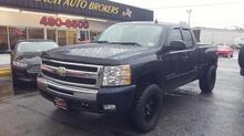 2010_CHEVROLET_SILVERADO_1500 LT Z71 EXTCAB 4X4, CARFAX CERTIFIED, LIFTED, REMOTE START, TOW PKG, PREMIUM WHEELS & TIRES!_ Norfolk VA