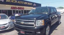 2010_CHEVROLET_SILVERADO_1500 LTZ CREW CAB 4X4, 6.2L V8, AUTOCHECK CERTIFIED, NAVIGATION, TOW PACKAGE, LEATHER, EXTRA CLEAN!_ Norfolk VA