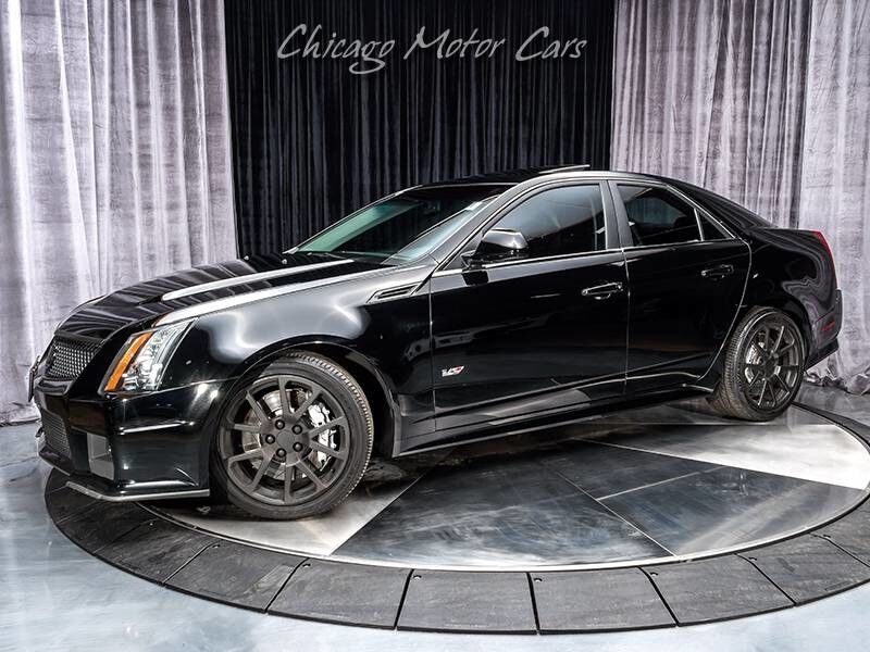 2010_Cadillac_CTSV_Sedan_ Chicago IL