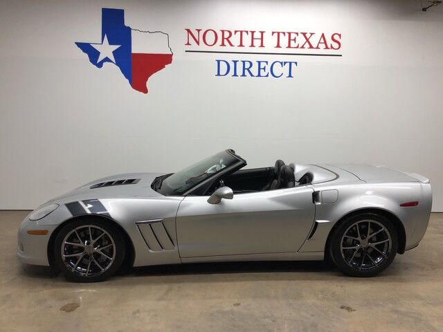 2010 Chevrolet Corvette Z16 Grand Sport w/4LT Twin Turbo Built Motor Gps Navi Mansfield TX