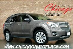 2010_Chevrolet_Equinox_LTZ - CLEAN CARFAX BLACK LEATHER HEATED SEATS SUNROOF CLIMATE CONTROL BLUETOOTH FRONT WHEEL DRIVE_ Bensenville IL