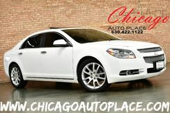 2010_Chevrolet_Malibu_LTZ - ECOTEC 2.4L 4-CYL VVT ENGINE FRONT WHEEL DRIVE 2-TONE BROWN/TAN LEATHER INTERIOR HEATED SEATS SUNROOF WOOD GRAIN INTERIOR TRIM_ Bensenville IL