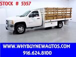 2010 Chevrolet Silverado 3500HD ~ 11ft Stake Bed ~ Only 55K Miles!