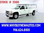 2010 Chevrolet Silverado 3500HD ~ 4x4 ~ Extended Cab ~ Only 44K Miles!