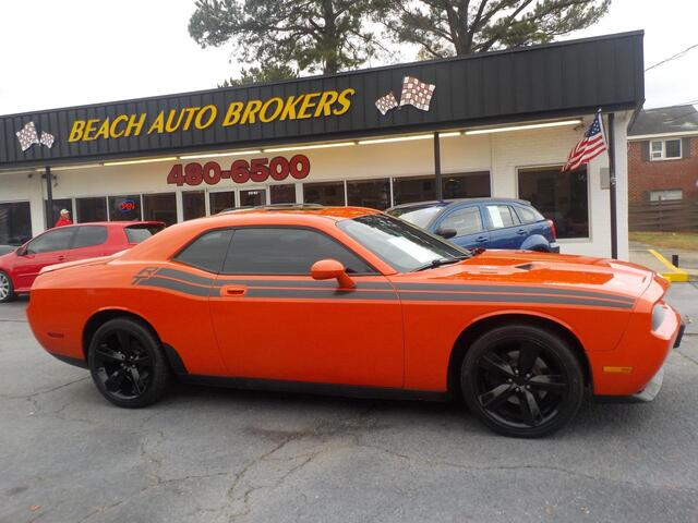 2010 DODGE CHALLENGER R/T, BUYBACK GUARANTEE,WARRANTY, MANUAL,  HEMI, SUNROOF, REAR SPOILER, AUX PORT, LOW MILES,GORGEOUS! Norfolk VA