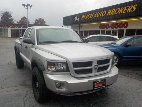 2010 DODGE DAKOTA BIG HORN 4X4, BUYBACK GUARANTEE, WARRANTY, BED LINER, TOW PKG, ONLY 87K MILES, VERY CLEAN, NICE!!!!! Norfolk VA