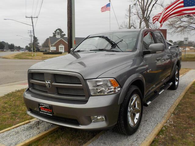 2010 DODGE RAM 1500 SPORT CREW CAB 4X4,WARRANTY, BACKUP CAM, TOW PKG, RUNNING BOARDS,HEATED SEATS, PARKING SENSORS! Norfolk VA