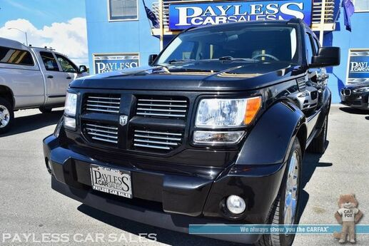 2010 Dodge Nitro Heat / 4X4 / Automatic / Auto Start / Cruise Control / Air Conditioning / Tow Pkg / Fog Lights / Chrome Wheels / 1-Owner Anchorage AK
