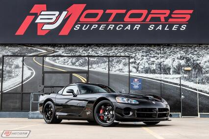 2010 Dodge Viper ACR VooDoo Edition #18/31 Tomball TX
