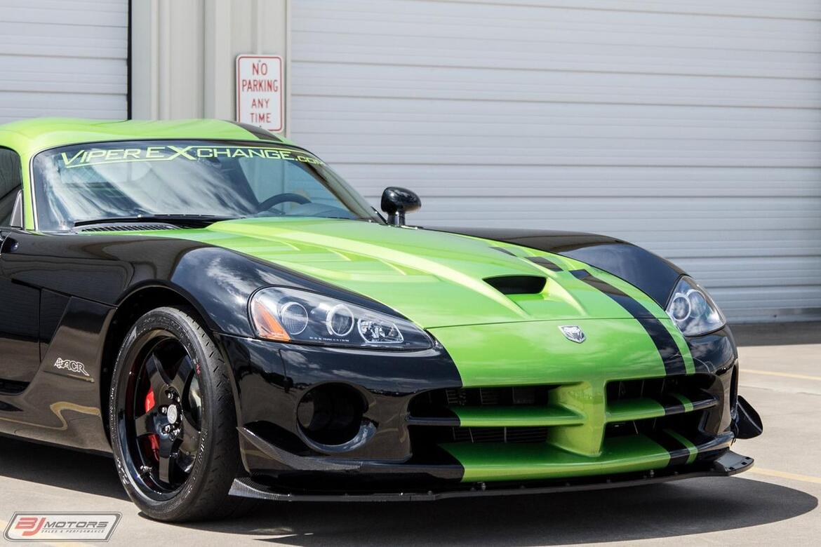 2010 Dodge Viper SRT-10 The Actual Ring Car From 2011 Tomball TX