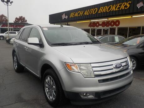 2010 FORD EDGE SEL,BUYBACK GUARANTEE, WARRANTY, LEATHER, HEATED SEATS, PARKING SENSORS, TOW PKG, ONLY 69K MILES!!!! Norfolk VA