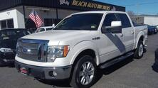 FORD F-150 LARIAT SUPERCREW 4X4, CARFAX CERTIFIED, SUNROOF, REMOTE START, TOW PKG, HEATED LEATHER, VERY CLEAN! 2010