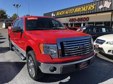 2010_FORD_F-150_XLT,BUYBACK GUARANTEE, WARRANTY, SATELLITE RADIO, RUNNING BOARDS, HARD TONNEAU,REALLY NICE!_ Norfolk VA